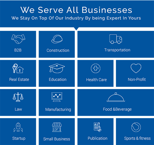 We Serve All Businesses