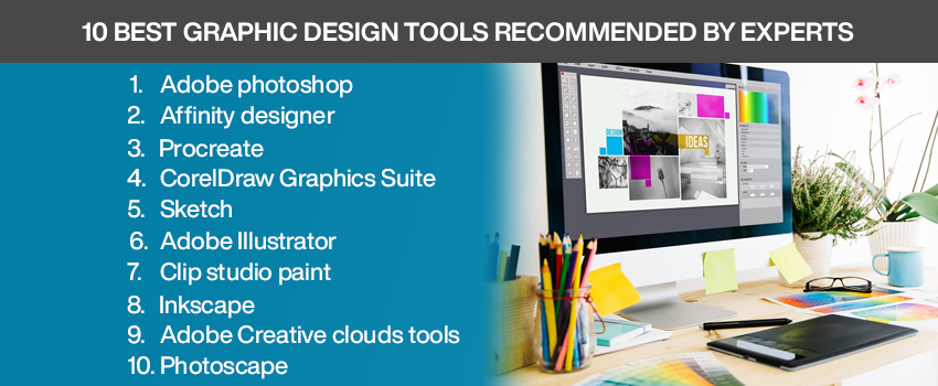 10 Best Graphic Design Tools Recommended By Experts