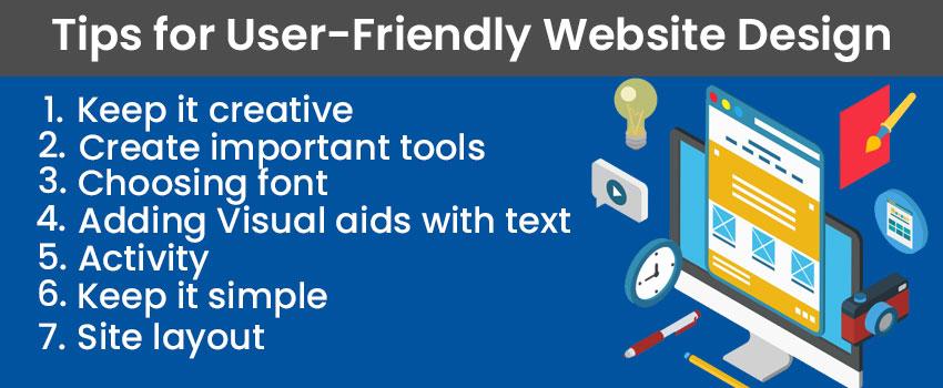 Tips for User-Friendly Website Design