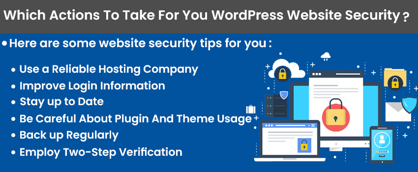 Which Actions To Take For You WordPress Website Security?