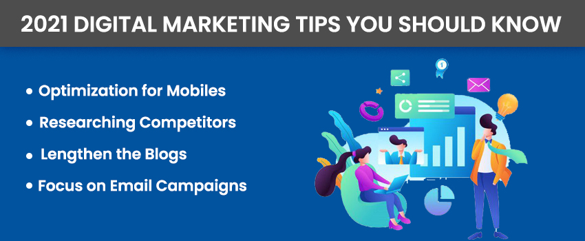 2021 Digital Marketing Tips You Should Know