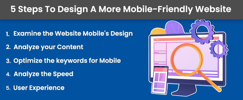 5 Steps To Design A More Mobile-Friendly Website